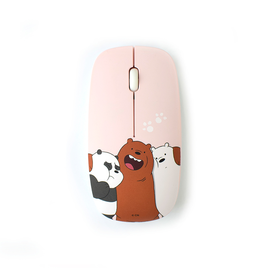 [LETO] 위베어베어스 무선 마우스 핑크