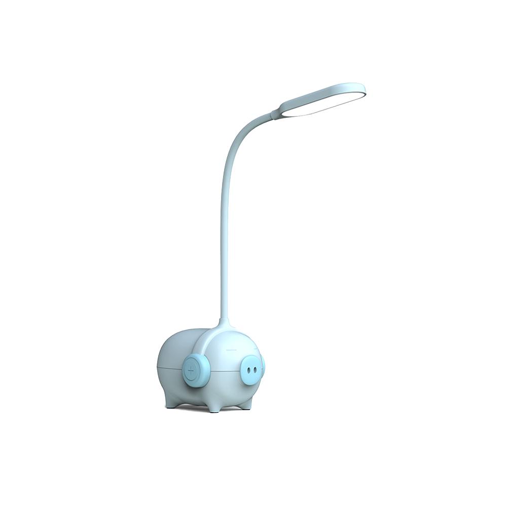 [LETO] 충전식 무선 LED 돼지 무드등 캠핑조명 블루