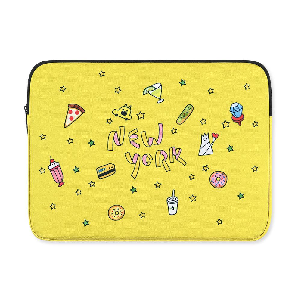 "[AllNewFrame] MacBook 11"" Pouch New York"
