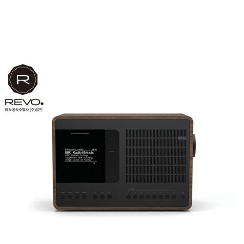 [REVO] Super Connect Walnut Black