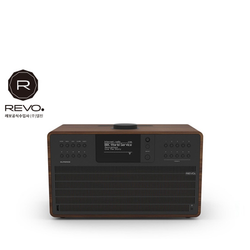 [REVO] Super CD Walnut Black