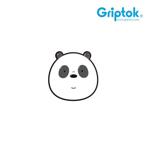 [GRIPTOK] 위베어베어스 캐릭터 판다/블랙 알루미늄 스마트톡(무료배송)