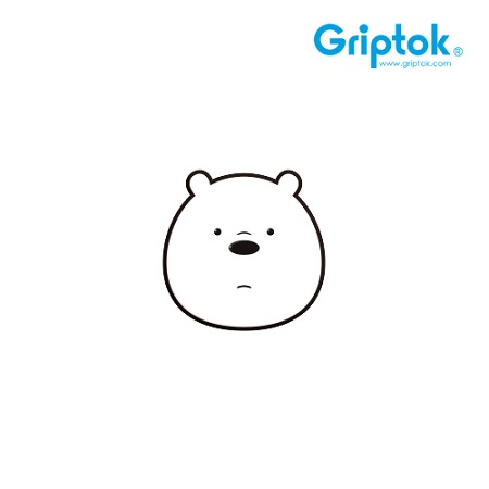 [GRIPTOK] 위베어베어스 캐릭터 아이스베어/블랙 알루미늄 스마트톡(무료배송)