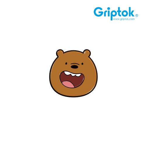 [GRIPTOK] 위베어베어스 캐릭터 그리즐리/블랙 알루미늄 스마트톡(무료배송)