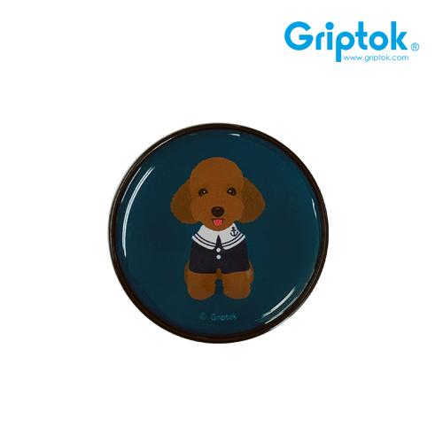 [GRIPTOK] 원형 푸들/블랙 에폭시 스마트톡(무료배송)