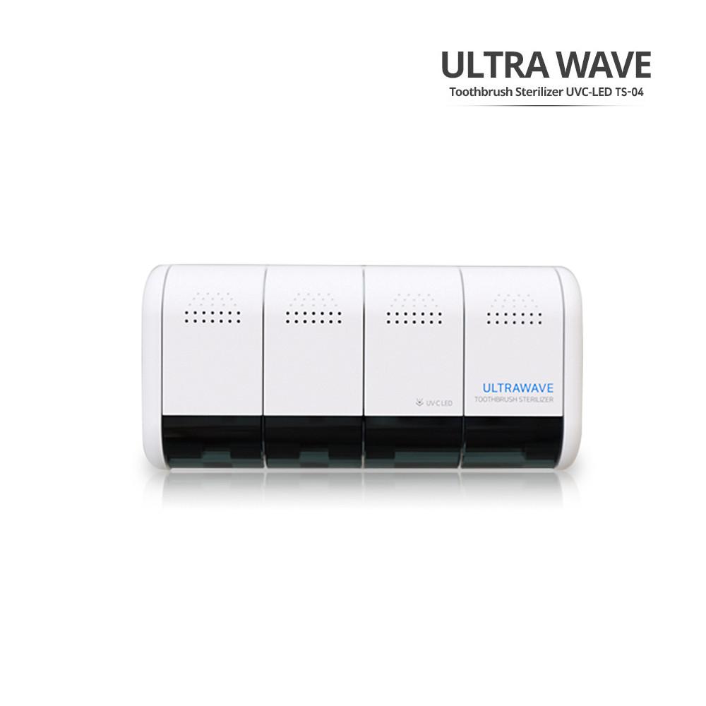 [ultrawave] 가정용 4인 칫솔 살균기 TS-04 화이트