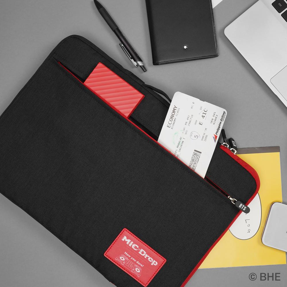 [BTS] MICDROP 노트북 파우치 15.6인치