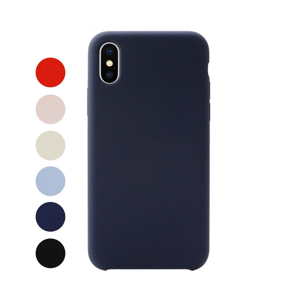 [IOGRAM] Silky Color Case for iPhone XS