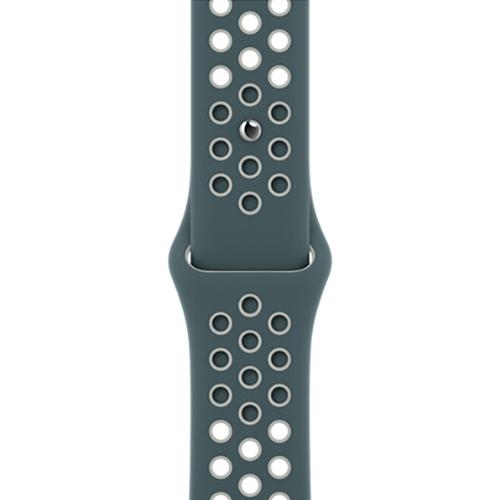 44mm 하스타/라이트 실버 Nike 스포츠 밴드 - 레귤러 (MJ6K3FE/A)