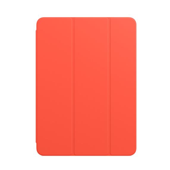 iPad Air(4세대)용 Smart Folio-일렉트릭 오렌지 (MJM23FE/A)