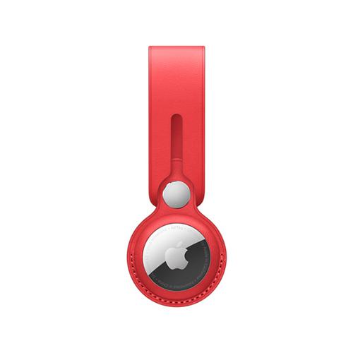 AirTag 가죽 루프 - (PRODUCT)RED (MK0V3FE/A)