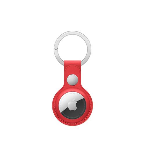 AirTag 가죽 키링 - (PRODUCT)RED (MK103FE/A)