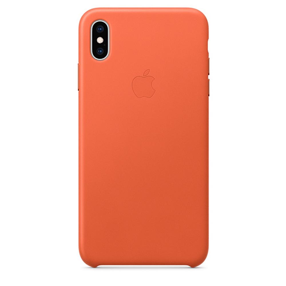 iPhone XS Max 가죽 케이스 - 선셋 (MVFY2FE/A)