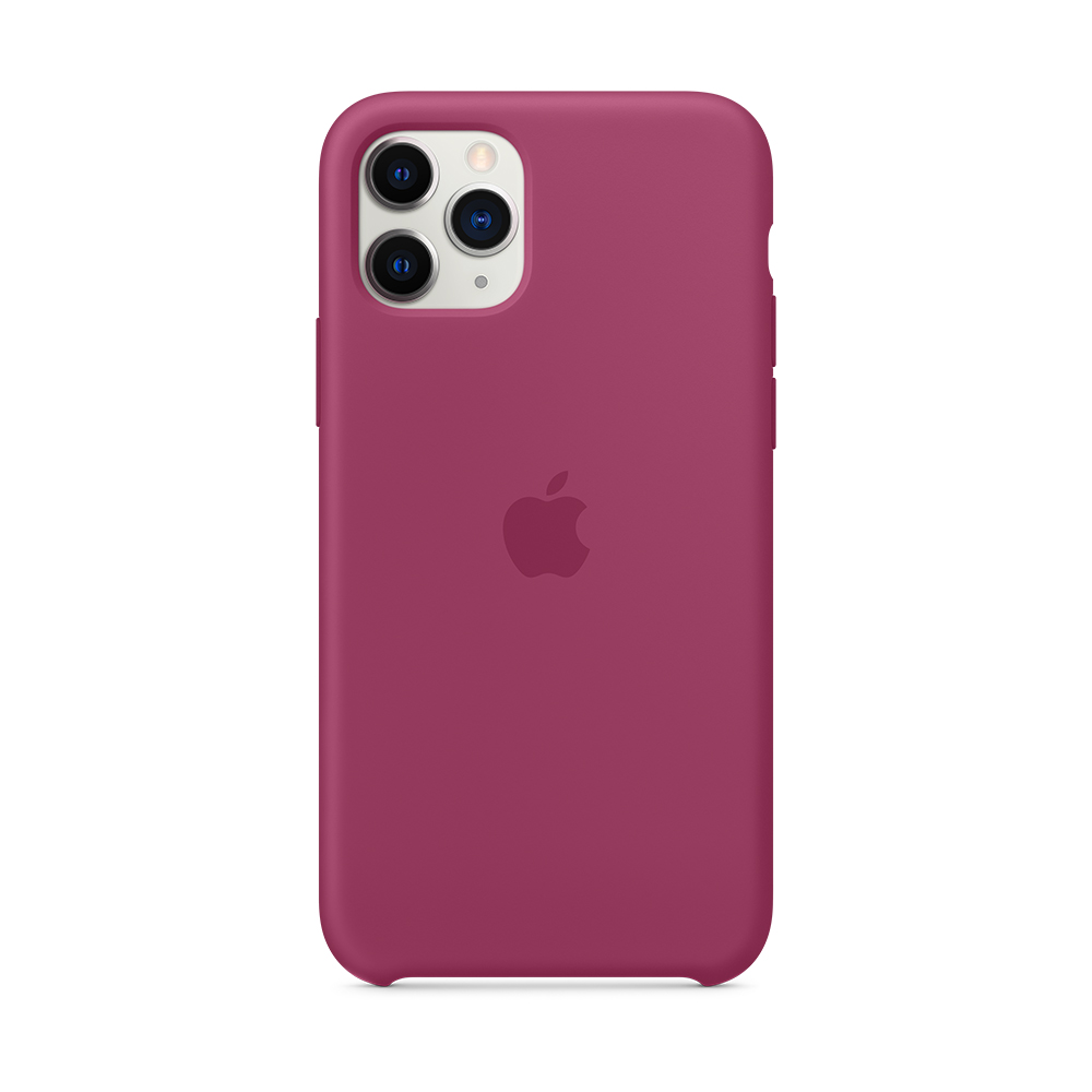 iPhone 11 Pro Max 실리콘 케이스 - 포메그래니트 (MXM82FE/A)