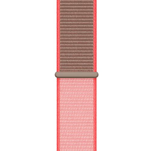 44mm 네온 핑크 스포츠 루프 (MXMU2FE/A)