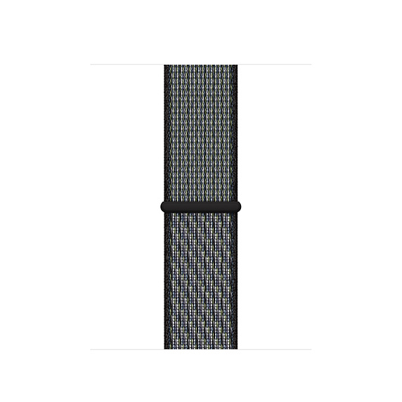 44mm 월드 인디고/라임 블래스트 Nike 스포츠 루프 (MXN52FE/A)