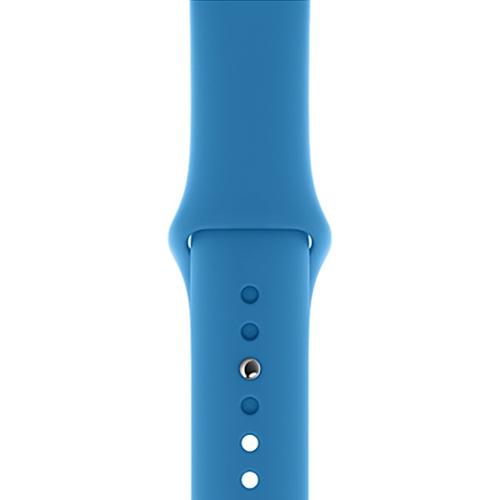 40mm 서프 블루 스포츠 밴드 - 레귤러 (MXNV2FE/A)