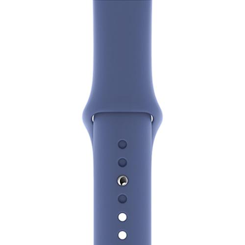 44mm 리넨 블루 스포츠 밴드 - 레귤러