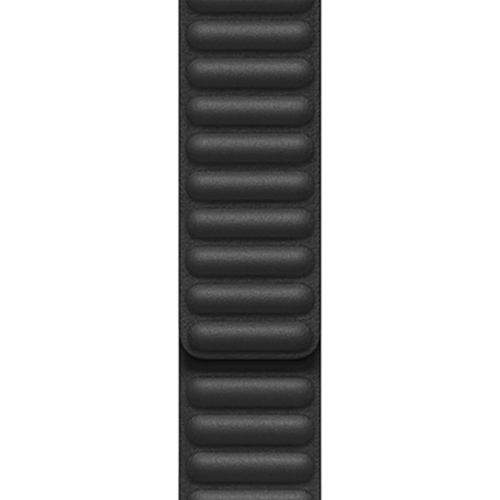 44mm 블랙 가죽 링크 - S (MY9M2FE/A)