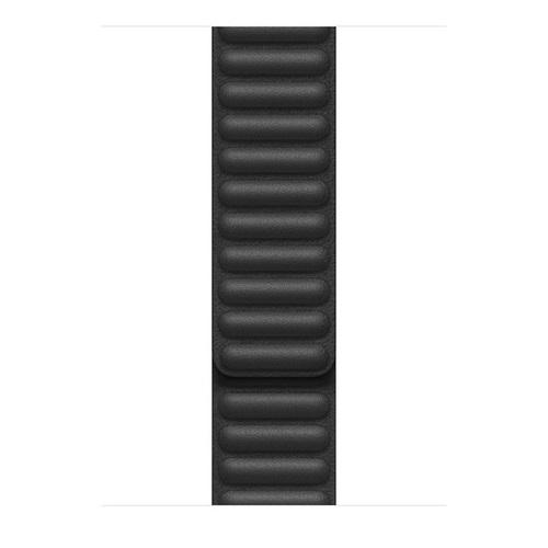 44mm 블랙 가죽 링크 - L (MY9N2FE/A)
