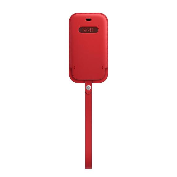 MagSafe iPhone 12 mini 가죽 슬리브 - (PRODUCT)레드 (MHMR3FE/A)