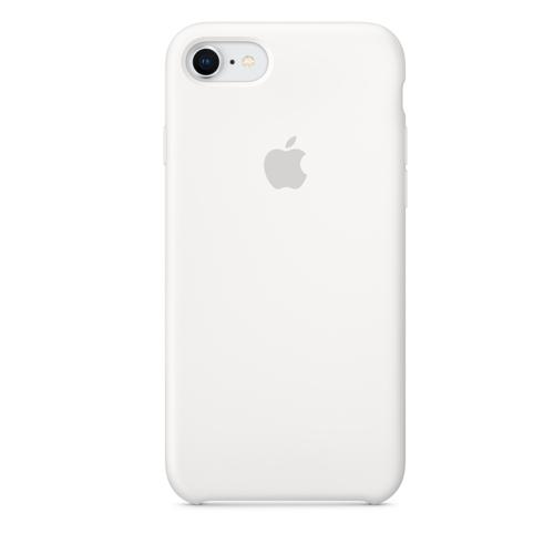 iPhone 8 & 7 실리콘 케이스 - 화이트