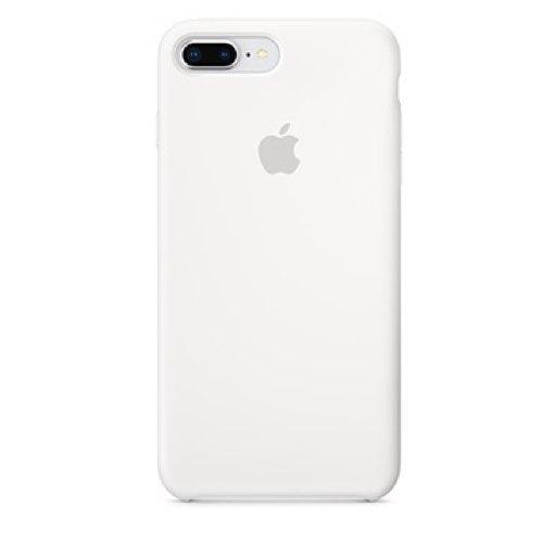 iPhone 8 & 7 Plus 실리콘 케이스 - 화이트 (MQGX2FE/A)