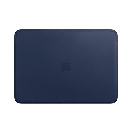 13형 MacBook Air 및 MacBook Pro용 가죽 슬리브 - 미드나이트 블루 (MRQL2FE/A)