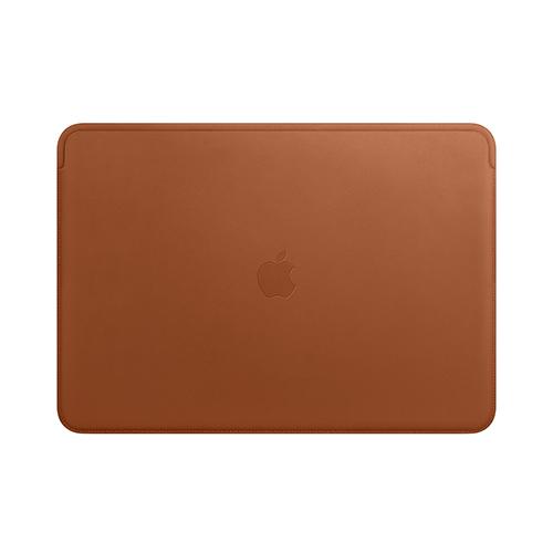 16형 MacBook Pro용 가죽 슬리브 - 새들 브라운 (MWV92FE/A)