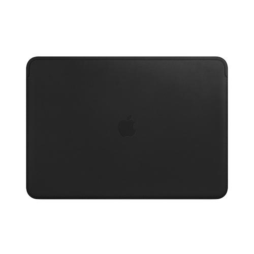 15형 MacBook Pro용 가죽 슬리브 - 블랙 (MTEJ2FE/A)