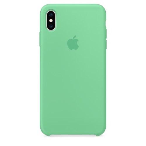 iPhone XS Max 실리콘 케이스 - 스피어민트 (MVF82FE/A)