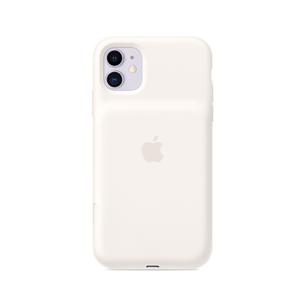 iPhone 11 배터리 케이스 - 화이트