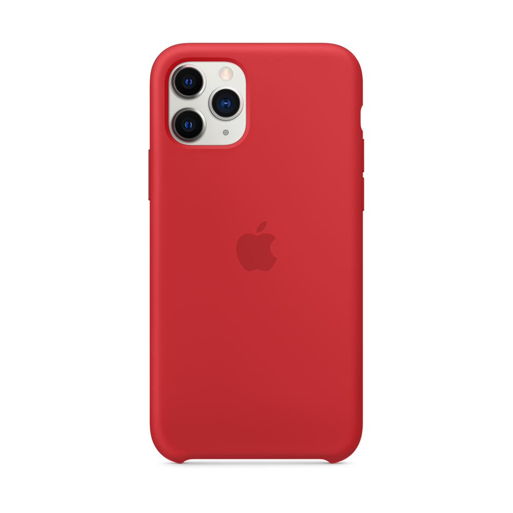 iPhone 11 Pro 실리콘 케이스 - (PRODUCT)RED