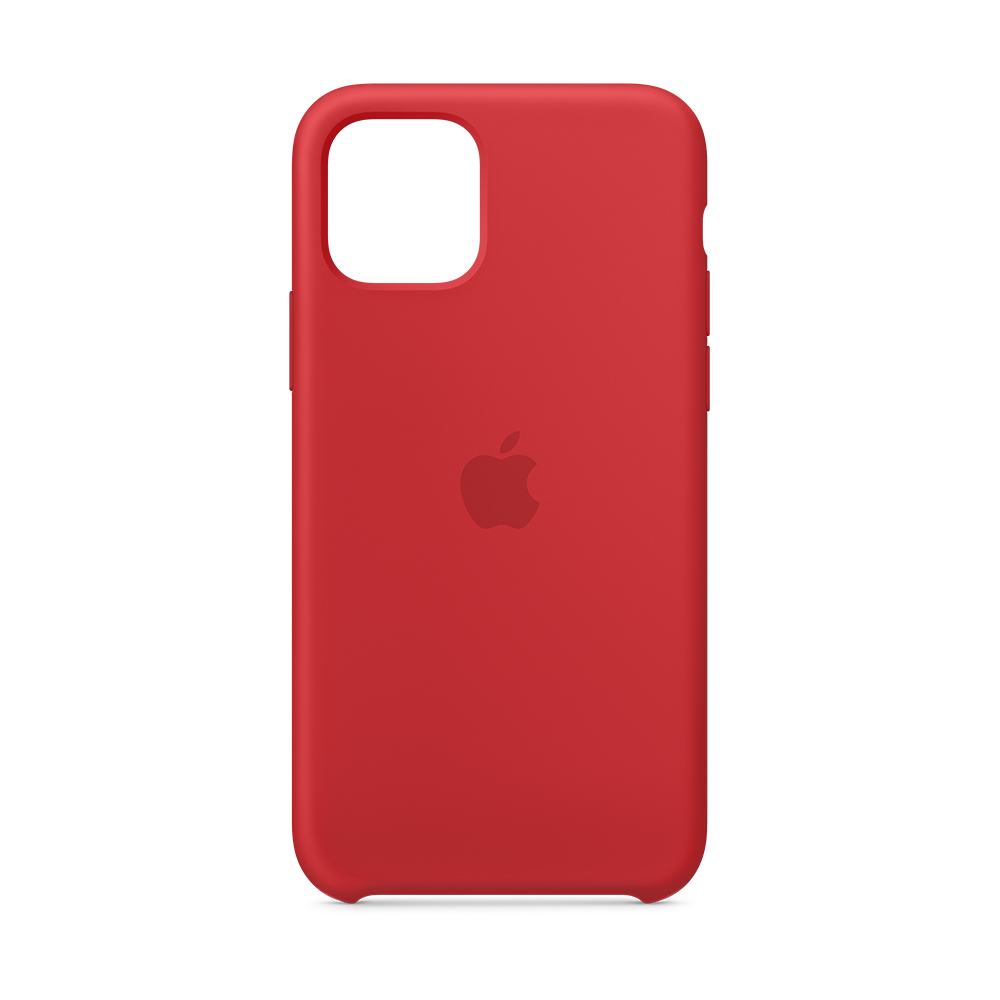 iPhone 11 Pro 실리콘 케이스 - (PRODUCT)RED (MWYH2FE/A)