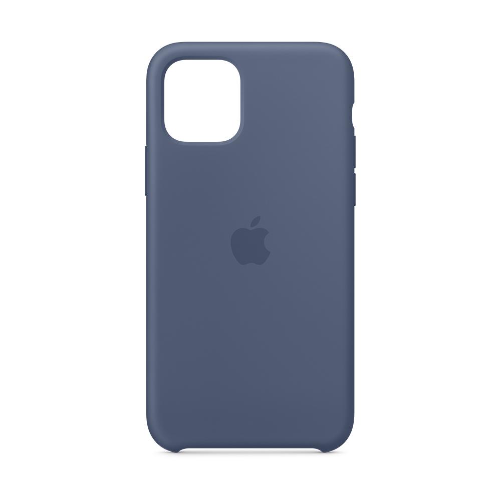 iPhone 11 Pro 실리콘 케이스 - 알래스칸 블루 (MWYR2FE/A)
