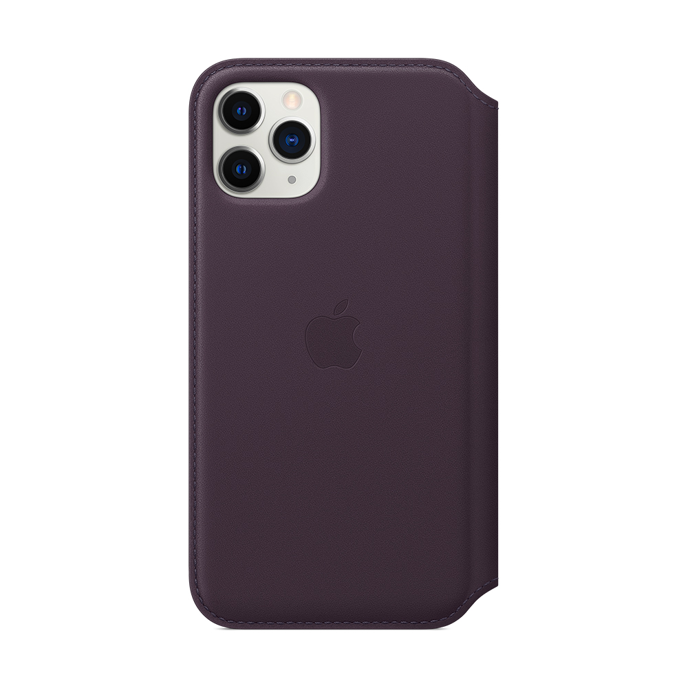 iPhone 11 Pro 가죽 폴리오 - 오베르진 (MX072FE/A)