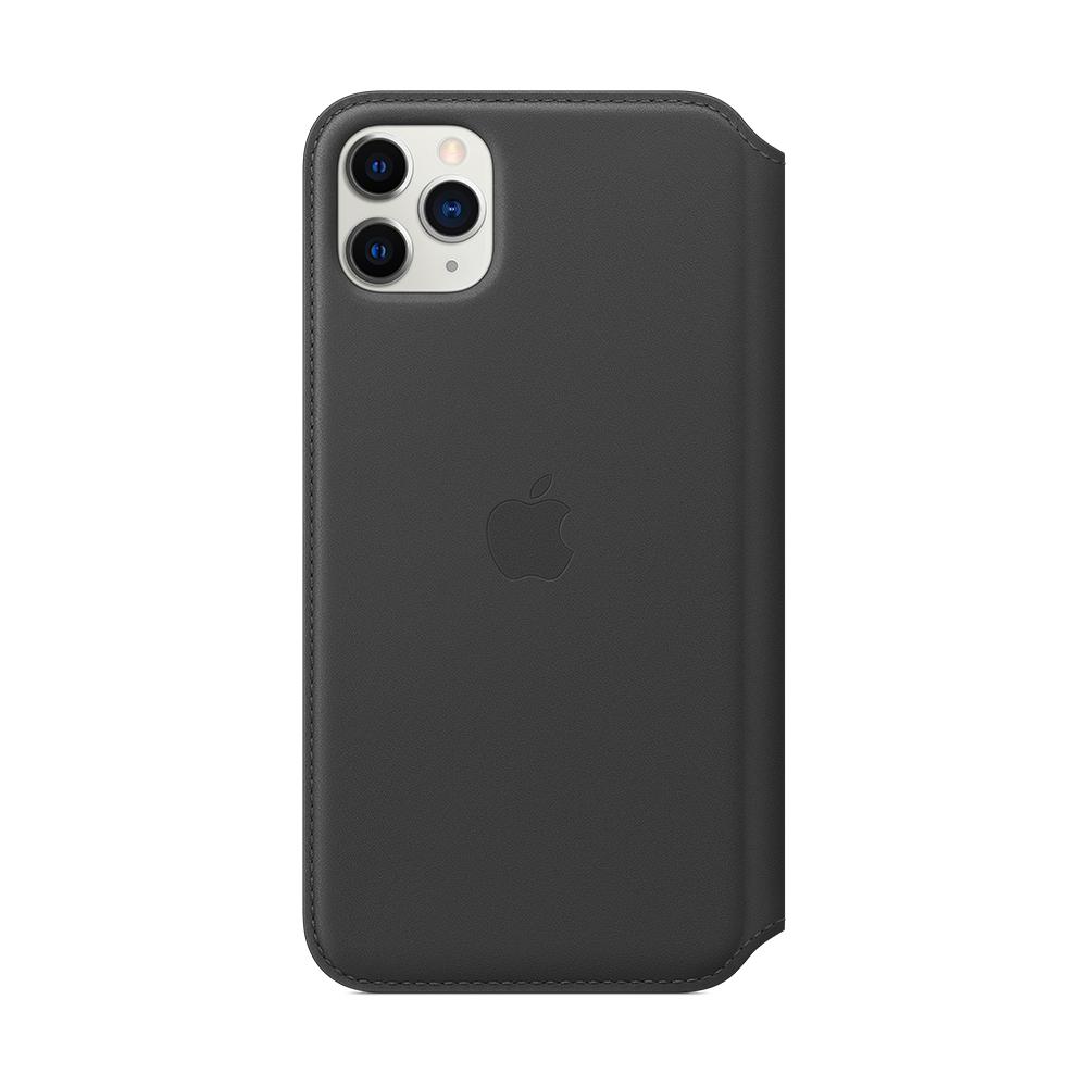 iPhone 11 Pro Max 가죽 폴리오 - 블랙 (MX082FE/A)