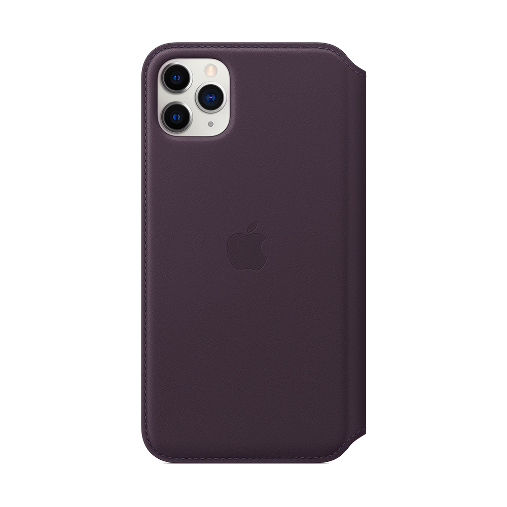 iPhone 11 Pro Max 가죽 폴리오 - 오베르진 (MX092FE/A)