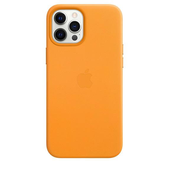 Mag Safe형 iPhone 12 Pro Max 가죽케이스 - 캘리포니아포피 (MHKH3FE/A)