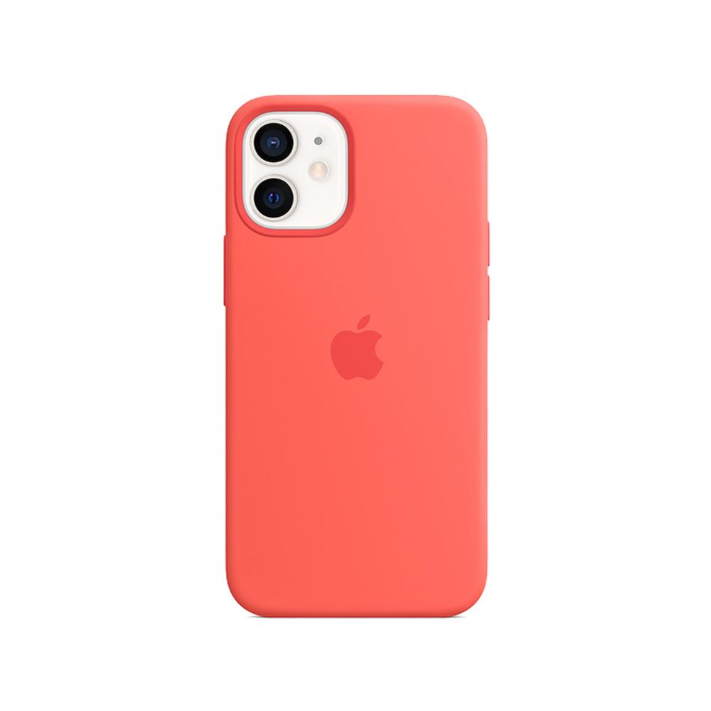 Mag Safe형 iPhone 12 mini 실리콘케이스 - 핑크시트러스 (MHKP3FE/A)