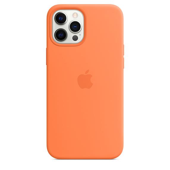 Mag Safe형 iPhone 12 Pro Max 실리콘케이스 - 컴콰트 (MHL83FE/A)