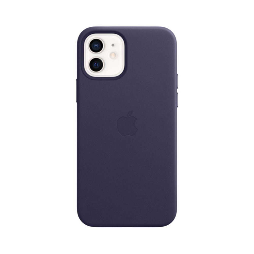 MS형 iPhone 12 | 12 Pro 가죽 케이스 - 딥바이올렛 (MJYR3FE/A)
