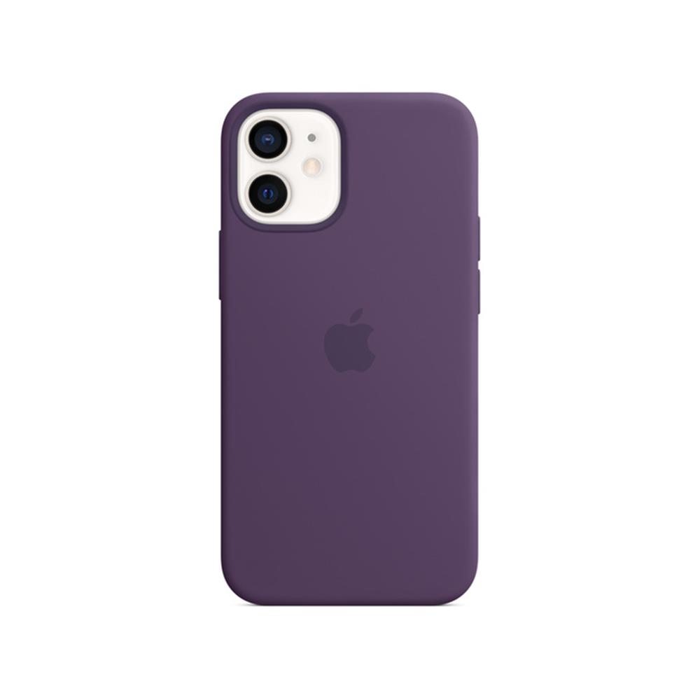 MS형 iPhone 12 mini 실리콘 케이스 - 애미시스트 (MJYX3FE/A)