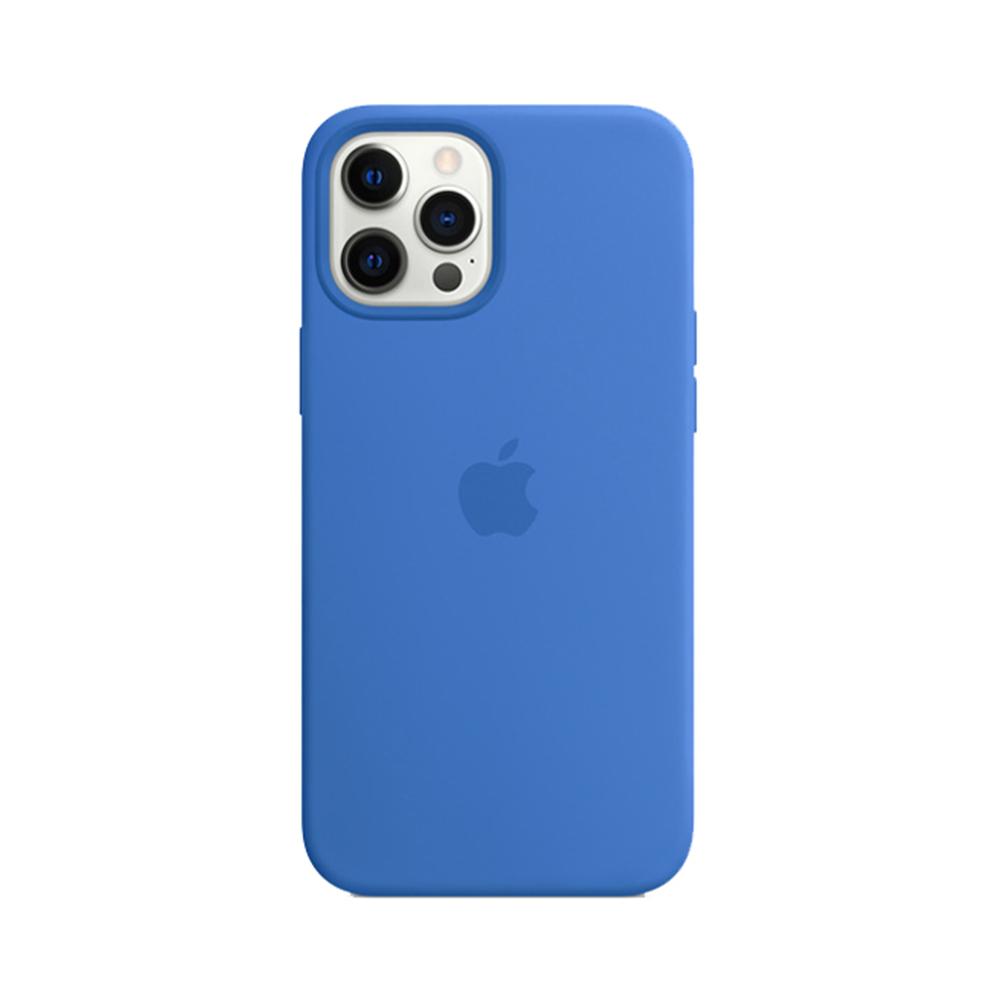 MS형 iPhone 12 | 12 Pro 실리콘 케이스 - 카프리 블루 (MJYY3FE/A)