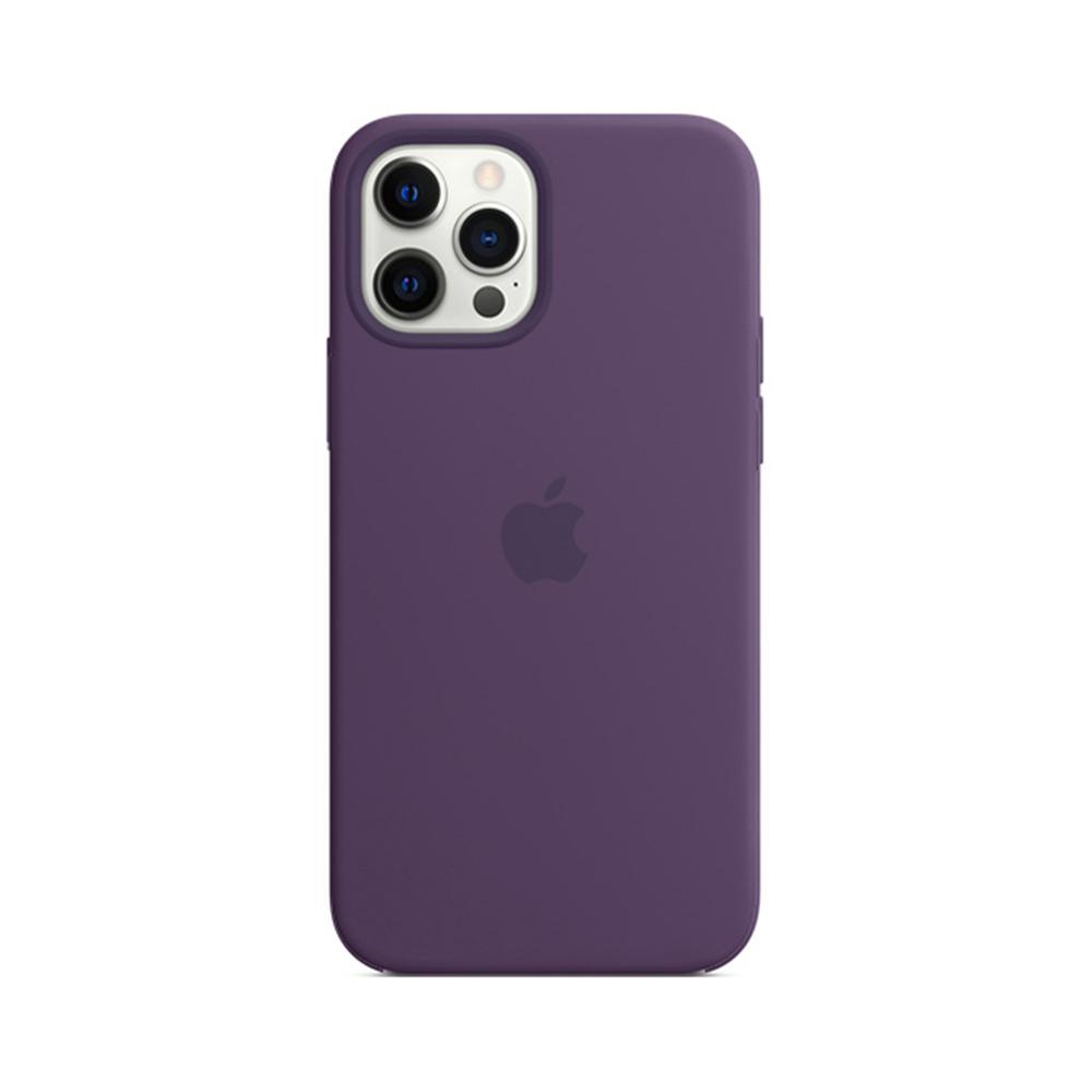MS형 iPhone 12 | 12 Pro 실리콘 케이스 - 애미시스트 (MK033FE/A)