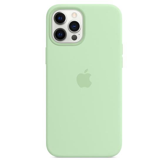 MS형 iPhone 12 Pro Max 실리콘 케이스 - 피스타치오 (MK053FE/A)