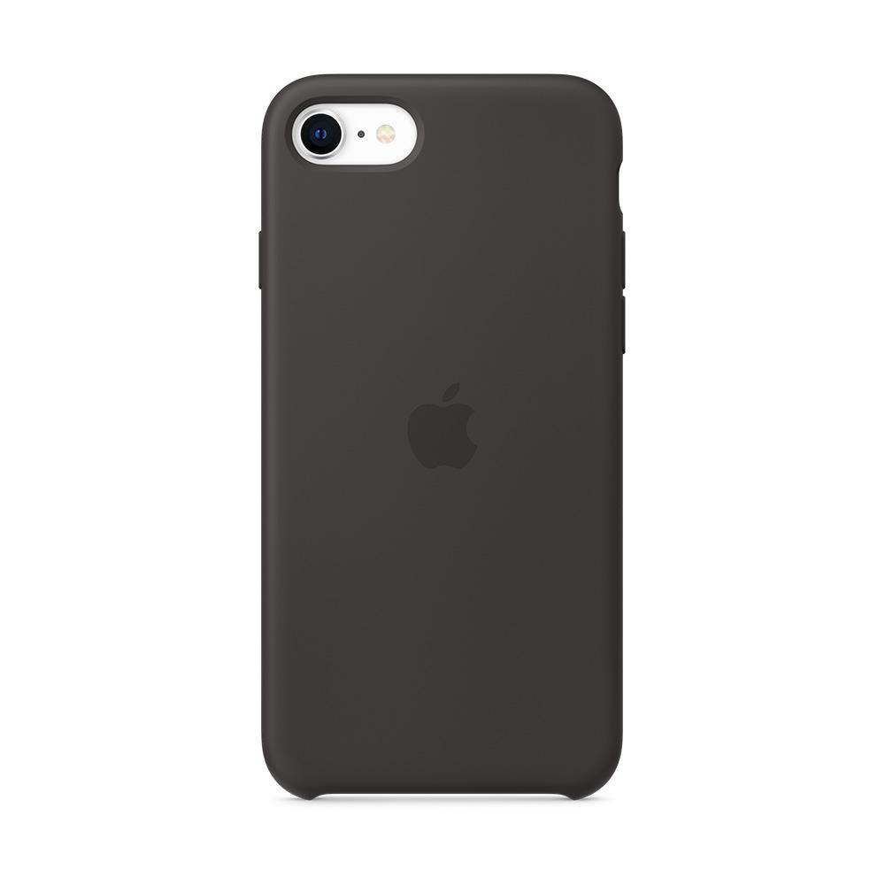 iPhone SE 실리콘 케이스 - 블랙 (MXYH2FE/A)