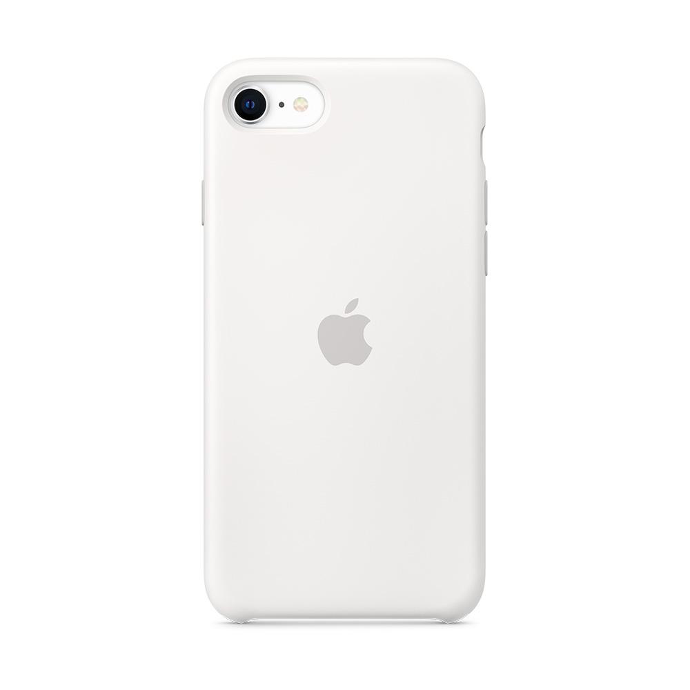 iPhone SE 실리콘 케이스 - 화이트 (MXYJ2FE/A)