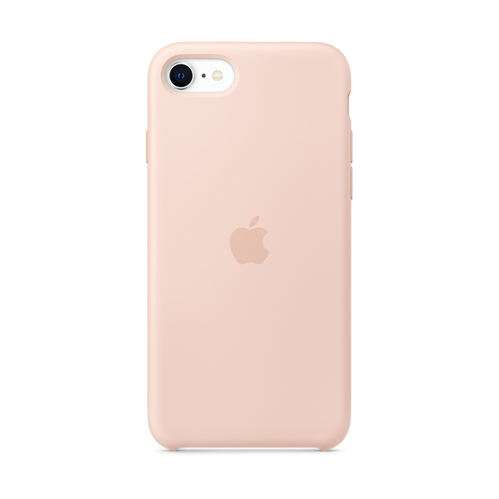 iPhone SE 실리콘 케이스 - 핑크샌드 (MXYK2FE/A)