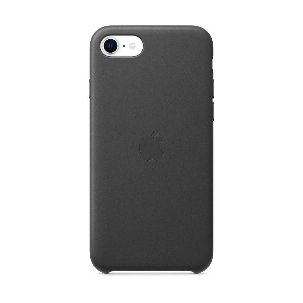 iPhone SE 가죽 케이스 - 블랙 (MXYM2FE/A)